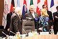 Secretary Tillerson Chats With Argentine Foreign Minister Malcorra at the G-20 Foreign Ministers' Meeting in Bonn (32093387964).jpg