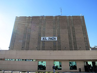 El País - El País headquarters in Madrid