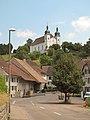 Seewen, straatzicht met Sankt German Kirche foto3 2013-07-20 14.22.jpg