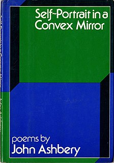 <i>Self-Portrait in a Convex Mirror</i> (poetry collection) 1975 book by John Ashbery