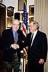 Senator Jesse Helms with former Senator Jeremiah Denton.jpg