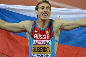 2014 European Athletics Championships – Men's 110 metres hurdles - Winner Sergey Shubenkov