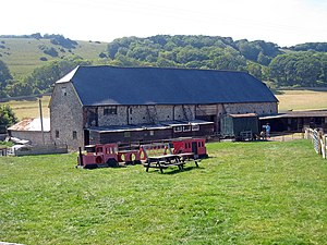 Seven Sisters Sheep Centre - The Sheep Centre in July 2008