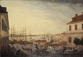 1770 in Sweden - Sevenbom, Brunnsbacken