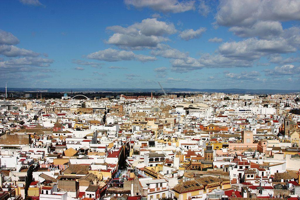 Vue sur Séville depuis la tour de la Giralda - Photo © José Luiz Bernardes Ribeiro / CC BY-SA 3.0