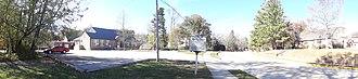 Sewanee Elementary School - Image: Sewanee Public School Desegregation Sign Panoramic