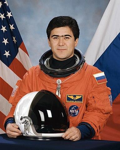 Cosmonaut Salizhan Shakirovich Sharipov, NASA photo Source: Wikipedia (www.jsc.nasa.gov unavailable August 2019) 385px-Sharipov.jpg