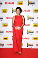 Sharmiela Mandre at 60th South Filmfare Awards 2013.jpg