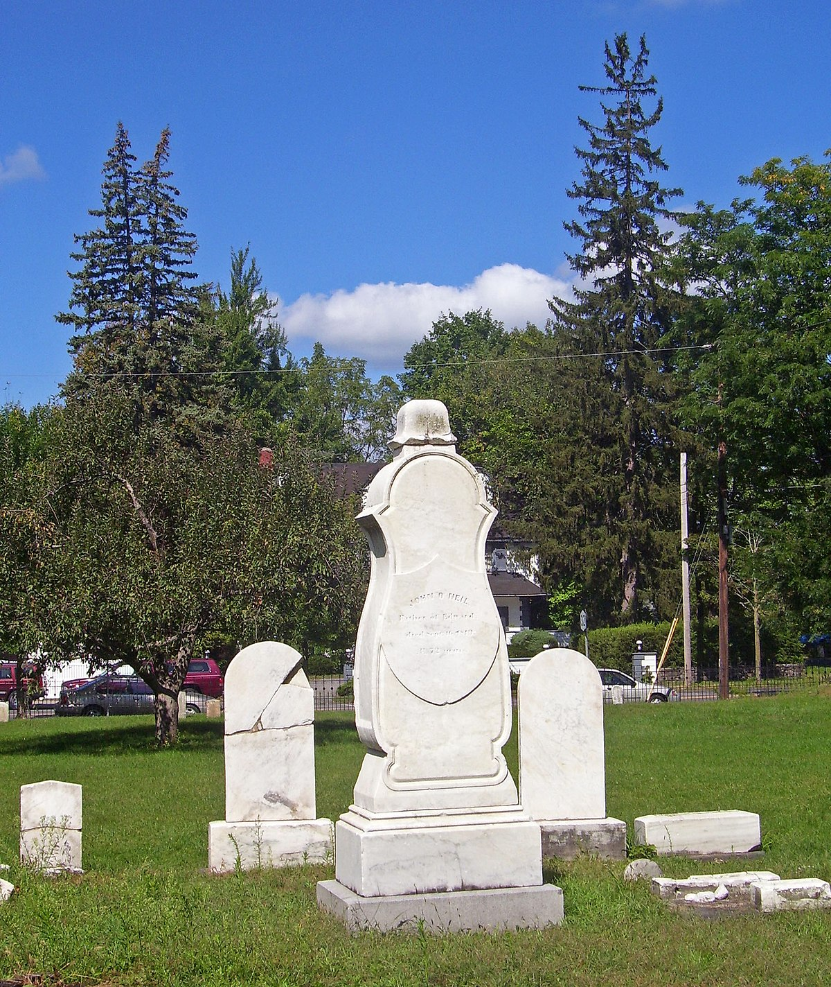 Burial ground: a selection of sites