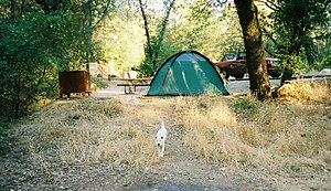 Shasta County, California - Image: Shasta Lake Campground