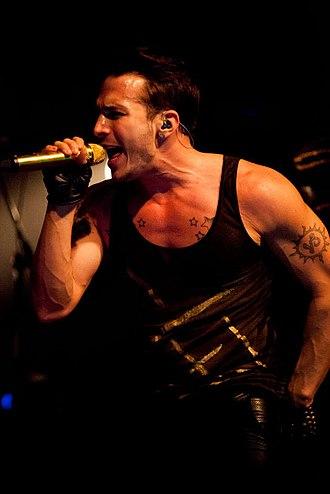 Shawn Desman - Desman performing at the Mod Club in Toronto, November 2013