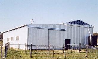 Shearing shed - A modern Australian shearing shed