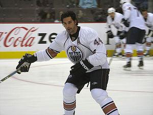 Sheldon Souray - Souray with the Edmonton Oilers