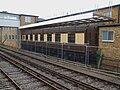 Shepperton station Malaga pullman car.JPG