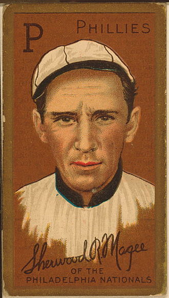 Sherry Magee - Magee's 1911 baseball card.