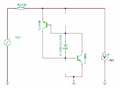 Shockley Diode equivalent circuit simulation - without resistors.PNG