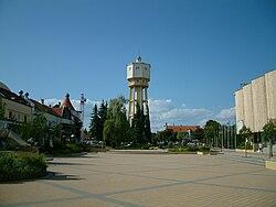 Siófok Fő tér (Main Square).JPG