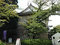 Side view of Tamon-Yagura of Osaka Castle.JPG