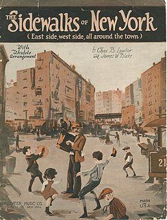 The Sidewalks of New York song