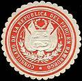 Siegelmarke Consulado de la Republica del Peru en Hamburgo W0223661.jpg