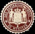 Siegelmarke Der Bezirksausschuss zu Münster W0221717.jpg