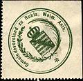 Siegelmarke Gemeindevorstand zu Ruhla - Weim. Anth. W0314349.jpg