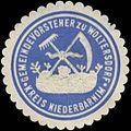 Siegelmarke Gemeindevorsteher zu Woltersdorf Kreis Niederbarnim W0382741.jpg