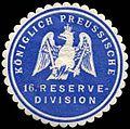 Siegelmarke K. Pr. 16. Reservedivision W0285455.jpg
