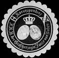 Siegelmarke Korrespondenz - Ihrer Königlichen Hoheit der Grossherzogin Luise von Baden W0233535.jpg