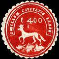 Siegelmarke Sigillum Civitatis Laees W0204795.jpg