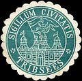 Siegelmarke Sigillum Civitatis Tribsees W0212472.jpg