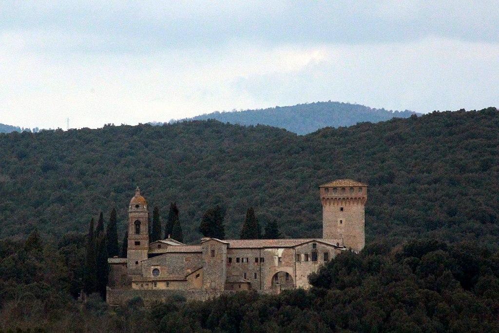 Hermitage Eremo di San Salvatore di Lecceto (Eremo di Lecceto), outside of Siena, Province of Siena
