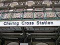 Sign, Charing Cross Railway Station, Strand WC2 - geograph.org.uk - 1298505.jpg