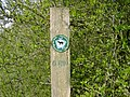 Sign Showing the Route of Greensand Ridge Walk - geograph.org.uk - 400462.jpg