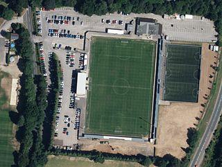 Ten Acres Football ground in Eastleigh, Hampshire, England