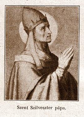 Silvester I., Papst