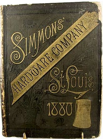 Simmons Hardware Company - brochure from 1880