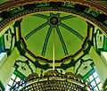 Singapore Abdul-Gaffoor-Moschee Innen Kuppel.jpg