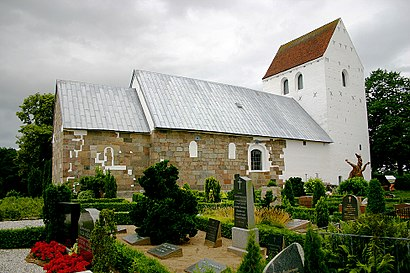 How to get to Skødstrup Kirke with public transit - About the place