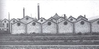 Sucreries Raffineries Bulgares - The Sucreries Raffineries Bulgares  factory around 1900