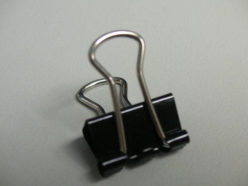 creative uses for binder clips babycenter. Black Bedroom Furniture Sets. Home Design Ideas