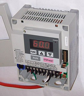 Variable-frequency drive type of adjustable-speed drive