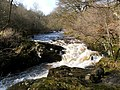 Small waterfall on the River Carron - geograph.org.uk - 1770022.jpg
