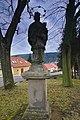 Socha svatého Jana Nepomuckého, Ostrov u Macochy, okres Blansko.jpg