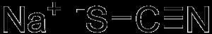 Sodium thiocyanate - Image: Sodium thiocyanate
