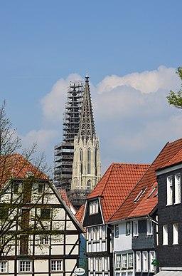 Soest, Türme Sankt Maria zur Wiese
