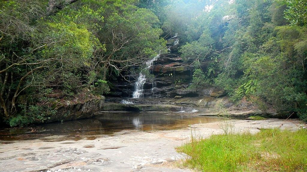 Somersby falls, brisbane water national park, nsw, australia