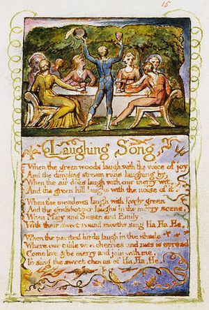 "Laughing Song - ""Laughing Song"" by William Blake is from his collection of poems Songs of Innocence."