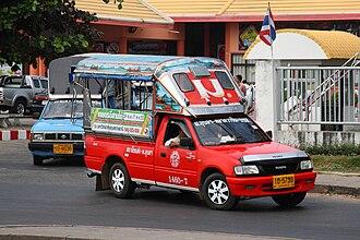Qingling Motors - Image: Songthaew in Ubon 05