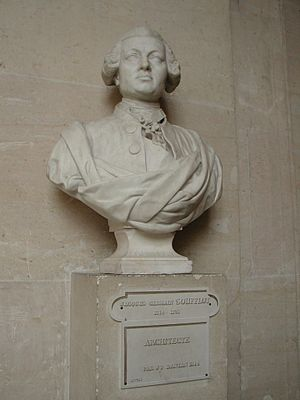 Jacques-Germain Soufflot - Bust of Soufflot.